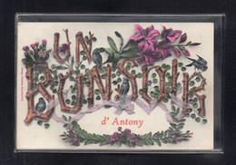 (25/08/21) 92-CPA ANTONY - UN BONSOIR - Antony