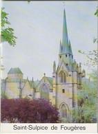 35 Eglise De Saint Sulpice De Fougères - Histoire