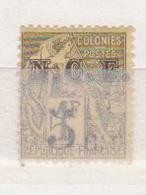 NOUVELLE CALEDONIE       N°  YVERT  :  10  NEUF AVEC  CHARNIERES      (  CH  01/40 ) - Unused Stamps