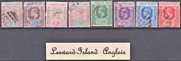 Lot De 8 Timbres Neufs, Oblitérés Et Différents De Leeward-Island Anglais - Lots & Kiloware (max. 999 Stück)