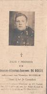 ABL, De Roeck ,1914 Albert Kanal  20 Mei 1940 , 2e Grenadiers - Overlijden