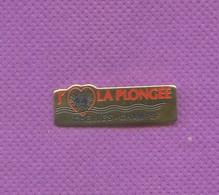 Rare Pins Plongee Chelles Champs M165 - Buceo