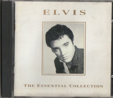 """COMPACT DISC DIGITAL AUDIO (P) 1994 : """" ELVIS """"  THE ESSENTIAL COLLECTION PRINTED OF LONDON IN ENGLAND - Compilations"""