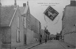 Rue Edgar Quinet Et Le Temple Protestant - Vierzon