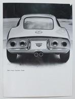 41029 Foto D'epoca 954 - Pubblicitaria Anni 60 - Opel Gran Tourisme Coupé - Automobili