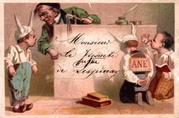 Chromo Monsieur Le Vicomte De Lespinay Bonnets D'âne - Autres