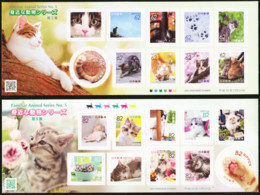 JAPAN 2018 Familiar Animal Series No. 5 Domestic Cats Animals Fauna MNH - Gatos Domésticos