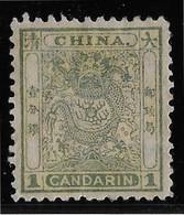Chine N°4 - Dentelé 12,5 - Neuf * Avec Charnière - TB - Unused Stamps