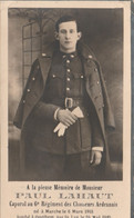 ABL, Paul Lahaut ,né à Marche Le 6 Mars 1918 Tombé à Goethem Le 26 Mai 1940 , 6e Chasseurs Ardennais - Overlijden