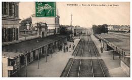 95 GONESSE - Gare De Villiers-le-Bel - Les Quais - Gonesse