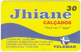 BRASIL R-071 Magnetic Telemar - Used - Brasilien