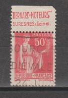 Paix Type 2A  N°283c - Reclame