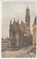 8805) WIEN - Künstler Postkarte - Kirche MARIA Am GESTADE - Erwin Pendl Signiert - ALT !! - Chiese