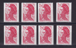 D212 / LOT N° 2379 TOUS AVEC N° ROUGE NEUF** - Collections