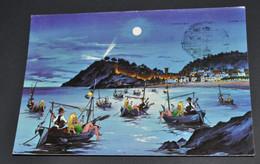 Tossa Romantica, Costa Brava - Pintura De John Lodi - Humour