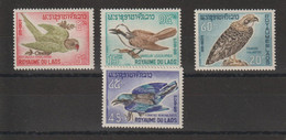 Laos 1966 Oiseaux 127-130 4 Val ** MNH - Laos