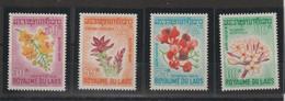 Laos 1967 Fleurs 160-163 4 Val ** MNH - Laos