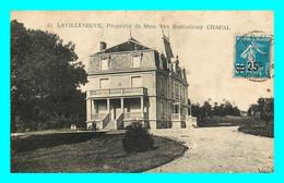 A844 / 245 23 - LAVILLENEUVE Propriété De Mme BARTHELEMY CHAPAL ( Timbre Surchargé ) - Sin Clasificación