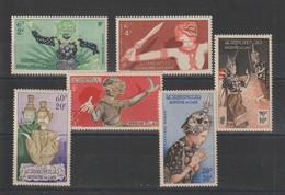 Laos 1955 Personnages De Theatre PA 14-19 6 Val ** MNH - Laos