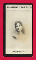 Photographie Argentique Félix Potin - 1ère Collection - Reine D'Italie Marguerite De Savoie - Félix Potin