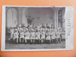 BUDAPEST  ( HONGRIE ) Carte Photo Du Personnel De L'HOTEL RITZ  - 1913 - Hungary