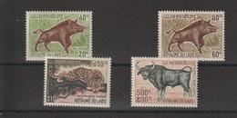 Laos 1970 Animaux 220-221 Et PA 72-73 4 Val ** MNH - Laos