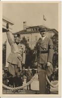 MUSSOLINI Et HITLER - Propagande - Der Führer Und Der Duce - La Belle Allemagne Vous Attend - 2 Scans - Guerre 1939-45