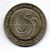 UKRANIA, 2 Hryvni, Copper-Nickel-Zinc, Year 1998, KM #72 - Ukraine
