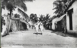 MADAGASCAR MAJUNGA Le Village De Mahabibo.Quartier Comorien - Madagascar