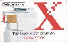 TELECARTE  CINQ  UNITES   TIRAGE  7 .000  EX     / 06    / 96     THE DOCUMENT COMPAGNY - Unclassified