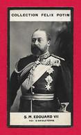 Photographie Argentique Félix Potin - 1ère Collection - Roi Du Royaume Uni Édouard VII - Félix Potin