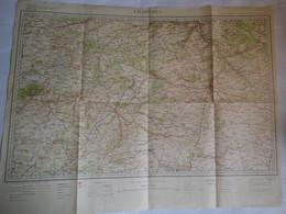 CHARTES - N° 24 -  - SERVICE GEOGRAPHIQUE DE L' ARMEE - EDITION DE 1899 A 1903 - ECHELLE 1/200.000e - Documentos