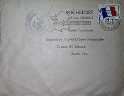 G 12 Lettre Ou Carte Ou Document  Lettre Poste Navale Rochefort - Poste Navale