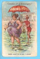 Scheveningen Fantasie Humor Dikke Dame RY56049 - Scheveningen