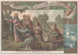 CHROMO CHOCOLAT D'AIGUEBELLE VOCATION DE SAINT-JACQUES & SAINT-JEAN - Aiguebelle