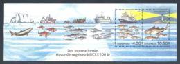 Denmark - 2002 Council For The Exploration Of The Sea Block MNH__(THB-3282) - Blocks & Kleinbögen