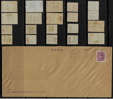 Canada 1946 Cover Department Of Reconstruction And Supply Perfin OH/MS On Her/His Majesty 's Service + 20 Stamp - Perfin