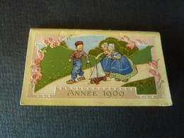Calendrier De Poche Petit Almanach Pour 1909 -A. JACQUIN Et Cie PARIS   (Septembre 2021 Calendr) - Klein Formaat: 1901-20
