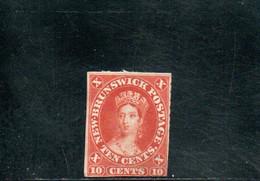 NEW BRUNSWIK 1860-3 SANS GOMME AMINCI-THINNED - Ongebruikt