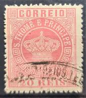 SAO TOME ET PRINCIPE 1885 - Canceled - Sc# 11 - St. Thomas & Prince