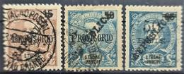 SAO TOME ET PRINCIPE 1913 - Canceled - Sc# 167-169 - St. Thomas & Prince