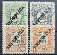 SAO TOME ET PRINCIPE 1913 - Canceled - Sc# J31-J34 - Postage Due - St. Thomas & Prince