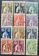 SAO TOME ET PRINCIPE 1914 - Canceled - Sc# 194-205 - St. Thomas & Prince