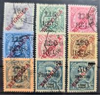 SAO TOME ET PRINCIPE 1915 - Canceled - Sc# 237-245 - St. Thomas & Prince