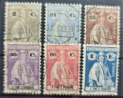 SAO TOME ET PRINCIPE 1926 - Canceled - Sc# 219, 233, 233A, 233D, 233F, 233I - St. Thomas & Prince