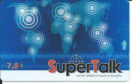 TELECARTE - SUPERTALK 7,50€ - - Telefoni