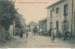 55) VILLERS-LE-SEC : Rue De La Tuilerie (1907) - Andere Gemeenten