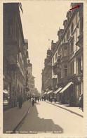 St-Gallen. Multergasse. Hotel Schiff. Rue Animée. Circulée 1918. - SG St. Gallen