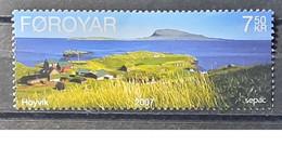 2007 - Feroe - MNH As Scan - SEPAC Landscapes - 1 Stamp - Faroe Islands