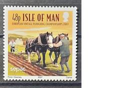 2007- Isle Of Man - MNH As Scan - SEPAC Landscapes - 1 Stamp - Isle Of Man